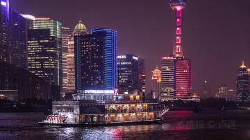 """上海-黄浦江""""清游江""""游览船 (6)"""