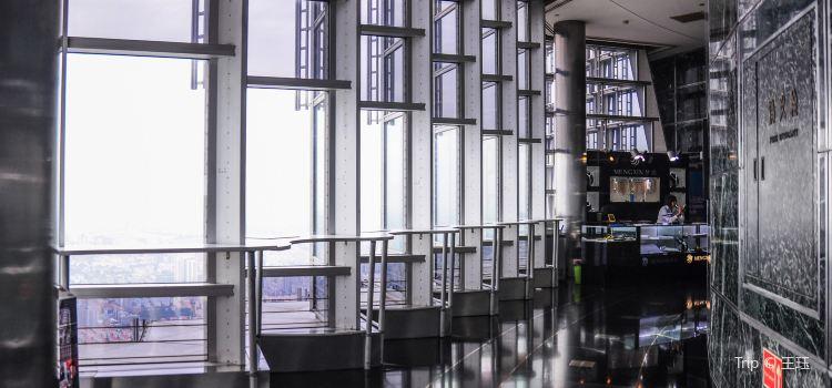 진마오 타워 88층 전망대1