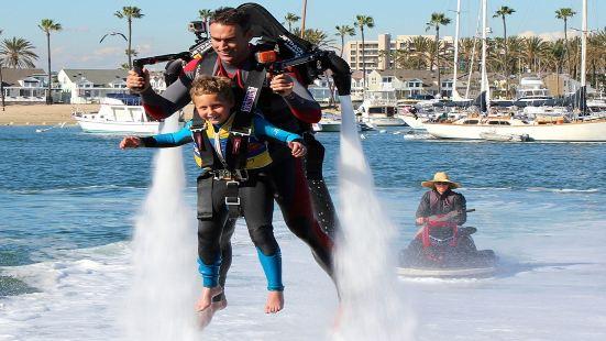 瓦胡島背包噴氣式水上飛行器體驗