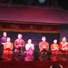 Water puppet show at Thao Dien Village User Photo