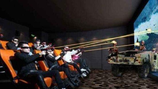 身臨其境7D多人對戰互動體驗館