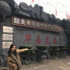 화난 호랑이공원 여행 사진