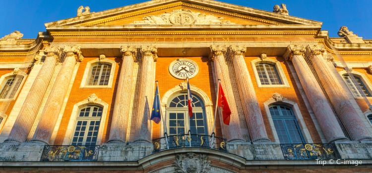 圖盧茲市政廳廣場1