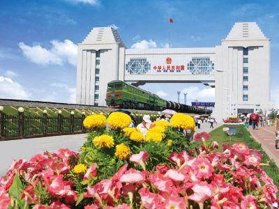 Manzhouli Guomen Scenic Area