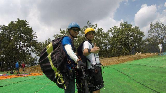 Emei Mountain Paragliding Double Experience
