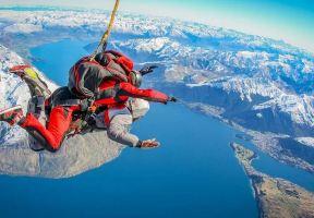 紐西蘭跳傘 | 再不瘋狂就老啦,跳傘攻略在此,趕緊來立個flag吧!
