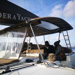 聖托裡尼半私人豪華雙體船之旅用戶圖片