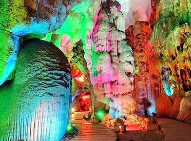 진슈펑수이동 동굴