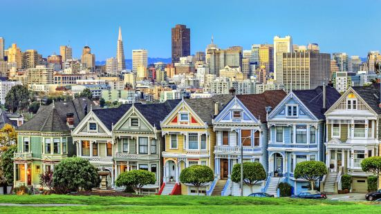 Painted Ladies - Alamo Square