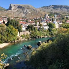 Old Bridge Area of the Old City of Mostar User Photo