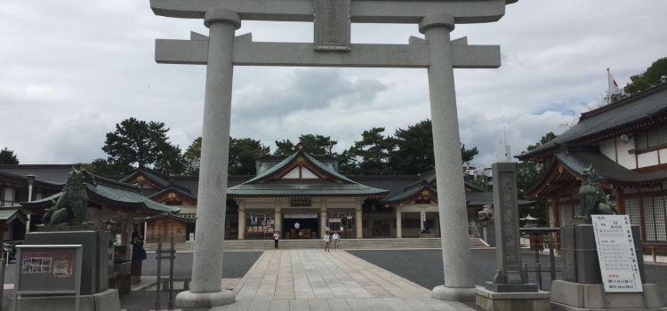 Hiroshimagokoku Shrine1