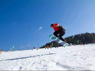 廣元曾家山滑雪場
