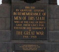 킹스 파크 전쟁 기념관 여행 사진