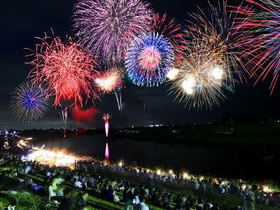 Miyama Noryo Fireworks