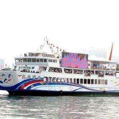 란하이 진주호 유람선 여행 사진
