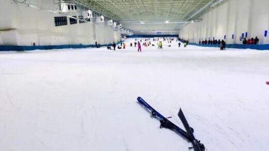 天鵝堡室內滑雪場