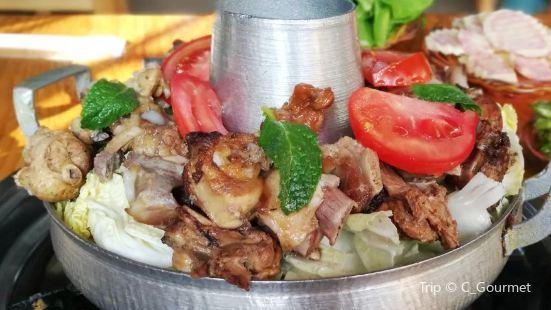 Shu He Wu Wei Pork Rib Tu Ji Hot Pot