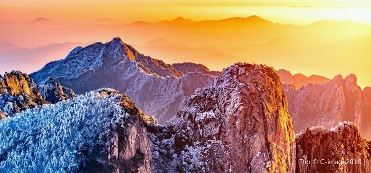 황산 관광지(황산 풍경지)2