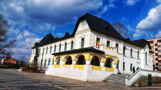 綏芬河鐵路大白樓