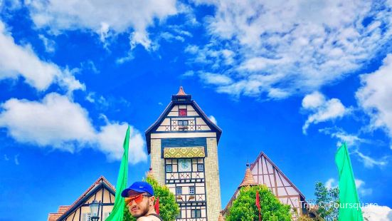 Japanese Village at Colmar Tropicale
