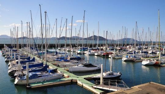 Fukuoka City Yacht Harbor