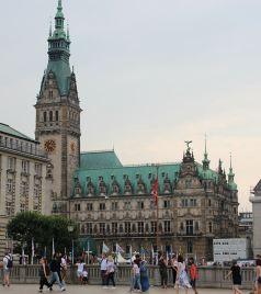汉堡游记图文-在德国最重要的海港和最大的外贸中心汉堡市中心堪称购物天堂的逛街