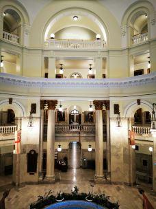 艾伯塔省议会大厦-埃德蒙顿-天作棋盘