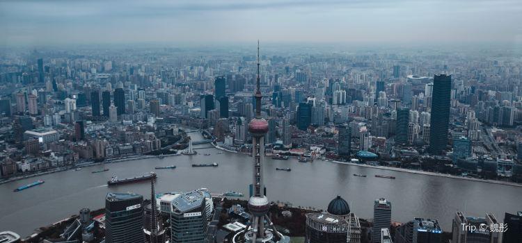 상하이 세계금융센터 전망대1