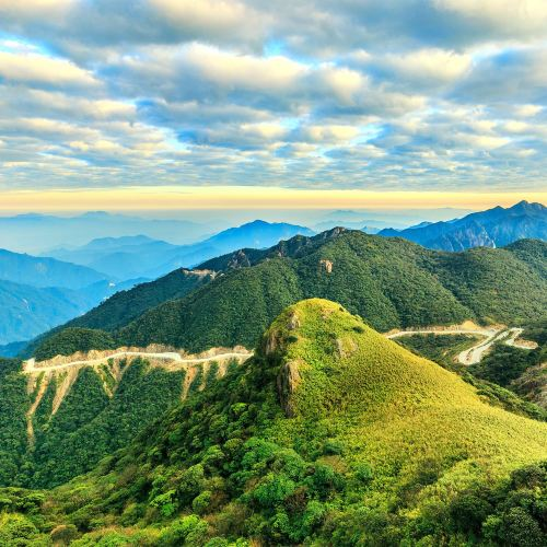 Shaoguan Guangdong First Peak