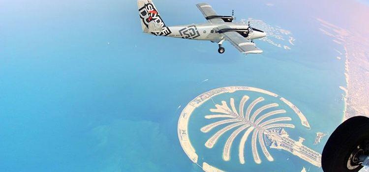 두바이 스카이다이빙 체험