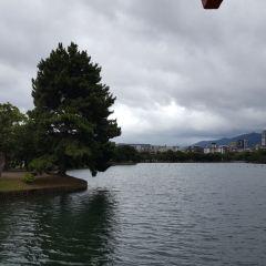 오호리 공원 여행 사진