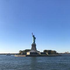 자유의 여신상 여행 사진