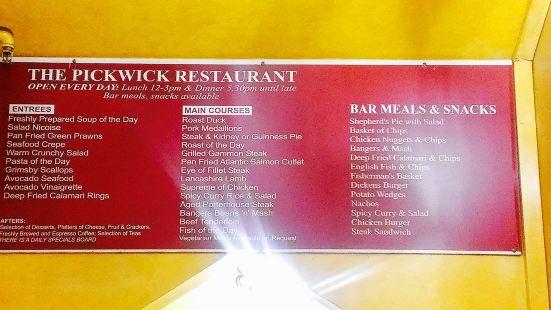 The Pickwick Restaurant