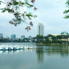 호안끼엠 호수 여행 사진