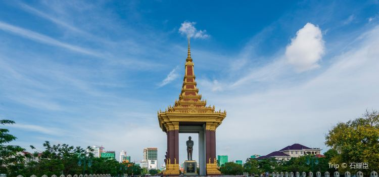 Statue of King Father Norodom Sihanouk2