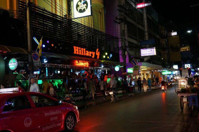 Sukhumvit Street Soi Nana Night Market