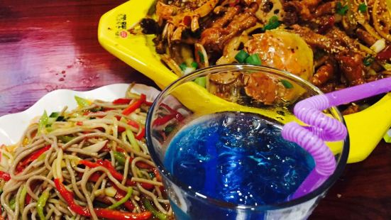 饞胖肉蟹煲(七彩城店)