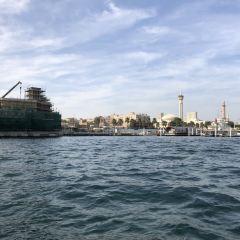 있는 두바이 운하 여행 사진