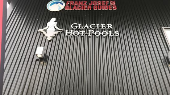 glacier hot pools