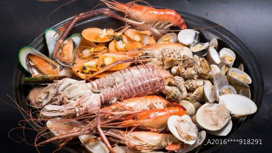 海蒸鮮蒸汽海鮮·銅盤烤肉