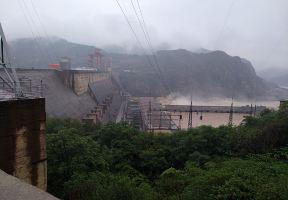 金秋河南行第十日之——三門峽黃河大壩與鸛雀樓