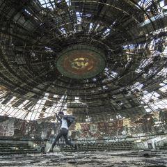 保加利亞飛碟紀念碑用戶圖片