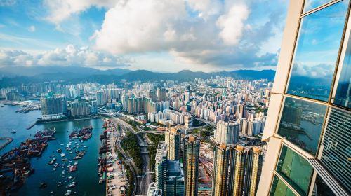 홍콩 스카이 100 전망대(향항천제100관경대)