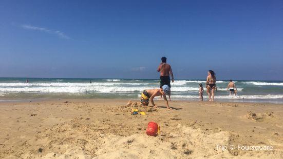 Spiaggia di Castellamare del Golfo