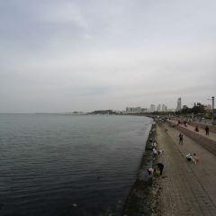 웨이하이 국제해수욕장 여행 사진