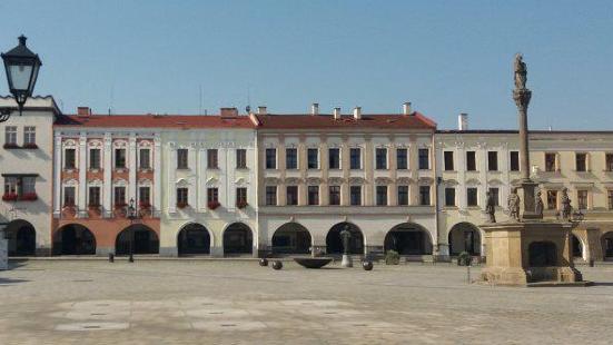 Old Town Square Novy Jicin
