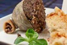 爱丁堡美食图片-肉馅羊肚