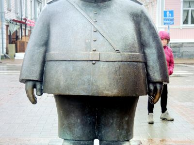 The Fat Policeman