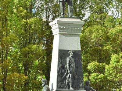 Brigham Young Monument and Meridian Marker