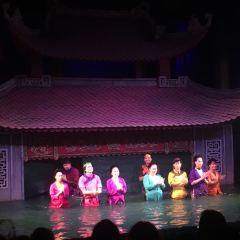 탕롱 수상인형극장 여행 사진